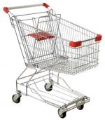 Тележка покупательская для супермаркетов 60 л.